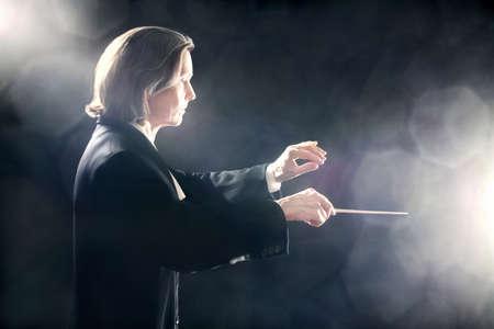 lideres: M�sica conductor de orquesta el maestro inspirado