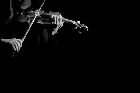 Violin player violinist playing classical music musical instruments