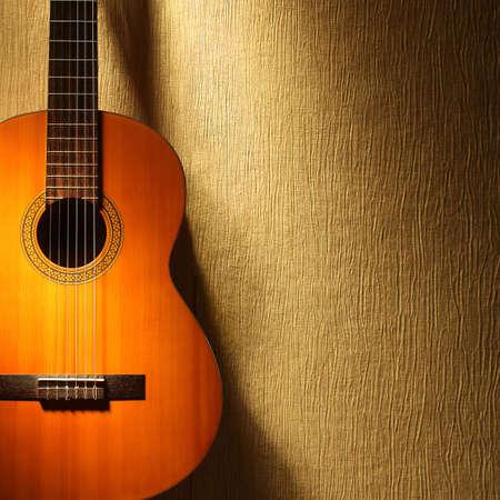 Guitare acoustique des instruments de musique de guitare classique