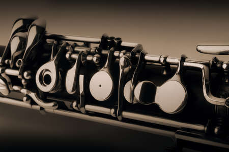 oboe: Oboe classical musical instruments of orchestra Stock Photo