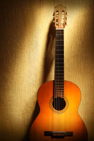 Acoustic guitar classical musical instrument