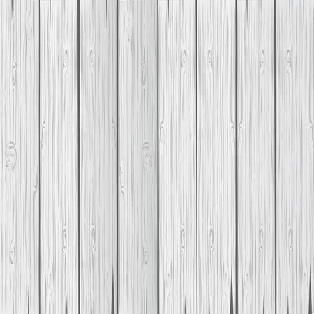 Wood light grey texture. Wooden background old panels. Vector illustration