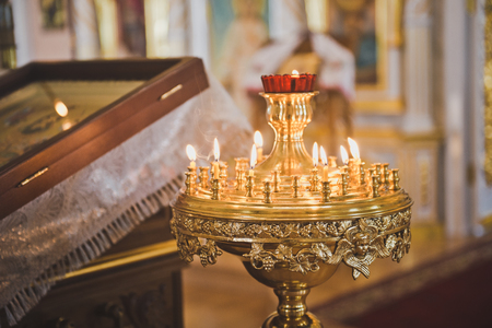 Stand for candles in the Church.