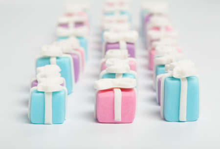 Many small gifts, sugar confectionery photo