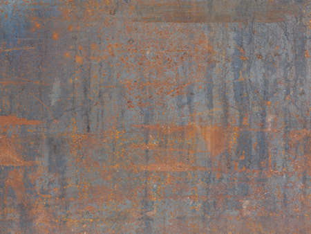metal textures: background texture metal rust old iron leaf Stock Photo