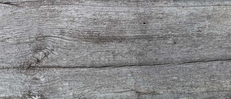 Old board, gray. Background, top view.