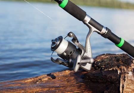 Fishing reel 写真素材