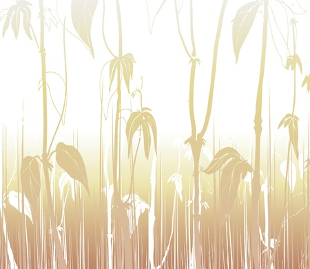 siloette: background leaf 2