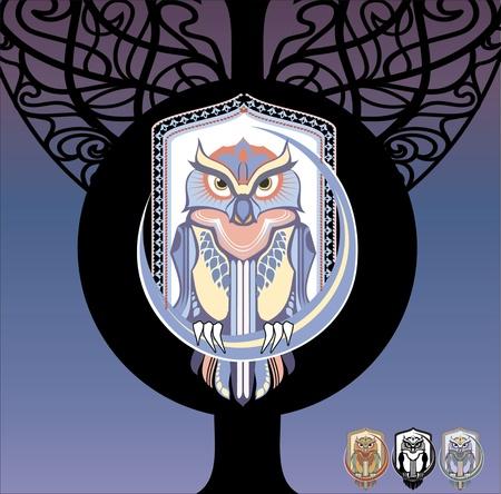 agonizing: owl bird