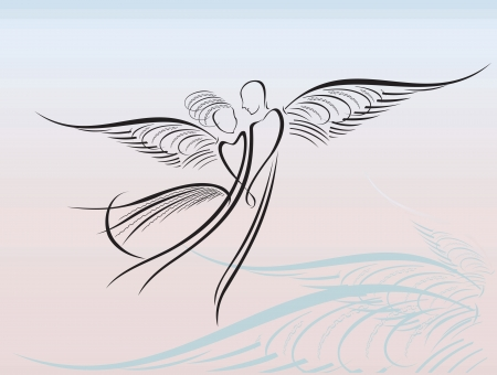 sagoma ballerina: Angeli
