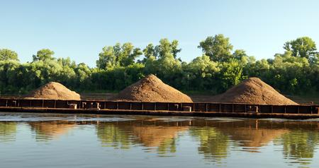 Transportation of sand