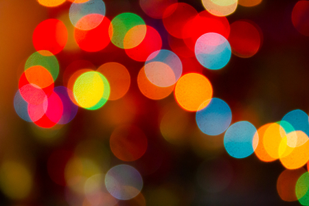 defocused christmas lights background. bokeh from christmas lights. christmas  background. bokeh background Stock - Defocused Christmas Lights Background. Bokeh From Christmas Lights