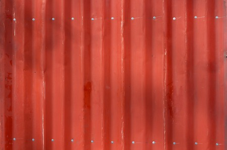 Red metal tile texture. The texture is red. Red wall Banque d'images