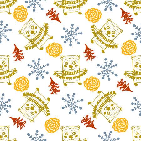 conception de noël sans soudure de noël pour les vacances d & # 39 ; hiver