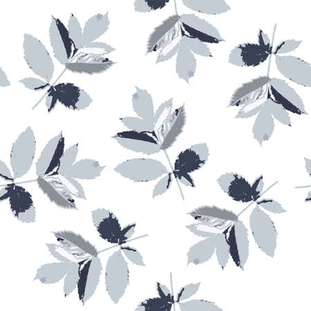 Seamless pattern with floral romantic elements. Endless texture for season summer design.