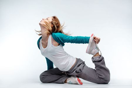 danza contemporanea: Adolescente bailando hip-hop Melodies