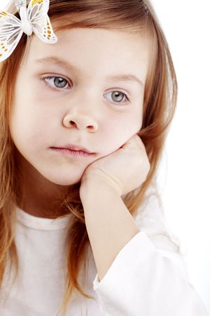 bambini tristi: Bambino carino