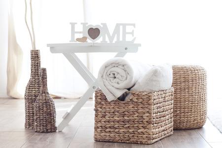 storage box: Details of modern cozy interior