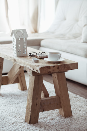 wooden furniture: Still life interior details