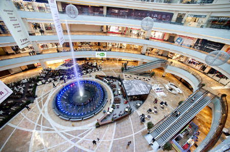 Bigest Moscow shopping center Afi Mall