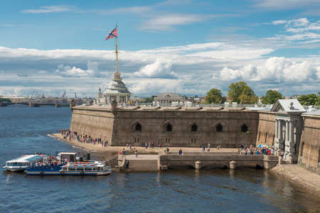 Peter and Paul Bastion is justly regarded one of the main attractions of Peter and Paul Fortress  It was built in 1712–1733 as the main cathedral of St Petersburg, new capital of the Russian Empire