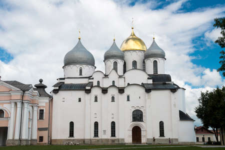 novgorod: The St. Sophia is one of Russias oldest stone buildings. It was erected by Prince Vladimir, the eldest son of Yaroslav the Wise, and his mother Anna in 1045 – 1050. St. Sophias Cathedral was the center of historical importance, witnessing a number of