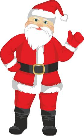 Christmas Santa Claus Stock Vector - 19162762