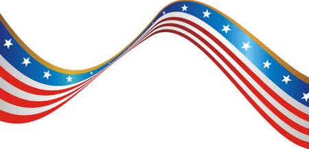 네번째: 미국의 국기 일러스트