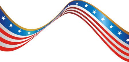 juli: De vlag van de VS