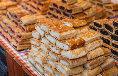 Selling cottage cheese pie and other pastries