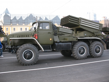 deg: russian katyusha rocket launcher