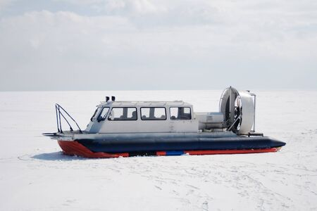 polar station: All-seasonal hovercraft