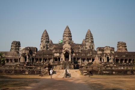 Vista de Angkor Thom complejo de templos en Angkor Wat