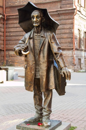 Monument artist Andre Pozdeev Krasnoyarsk