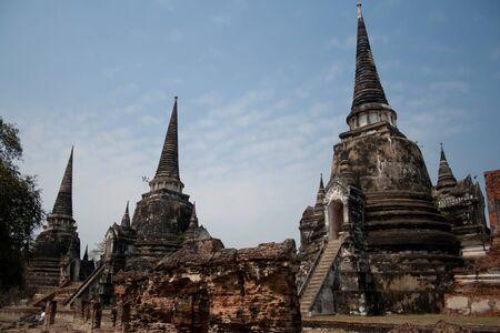 Wat Phra Si Sanpete  Wat Phra Sri Sanpetch  - the largest temple in Ayutthaya