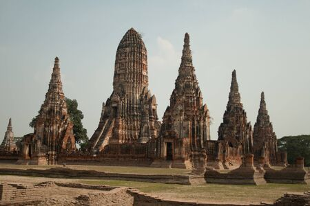 Wat Chaiwatthanaram Temple in Ayutthaya photo