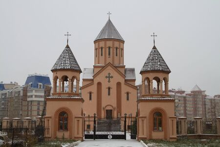 Church of St  Sarkis in Krasnoyarsk