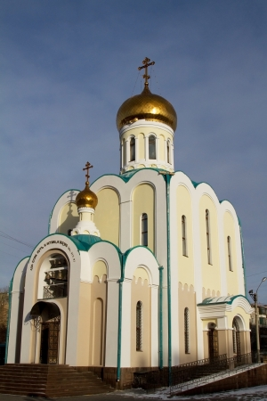 Church of the Holy Apostle and Evangelist Luke in Krasnoyarsk photo