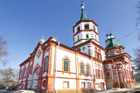 Holy Cross (Kresto-Vozdvigenskiy) church in Irkutsk Stock Photo - 18282187