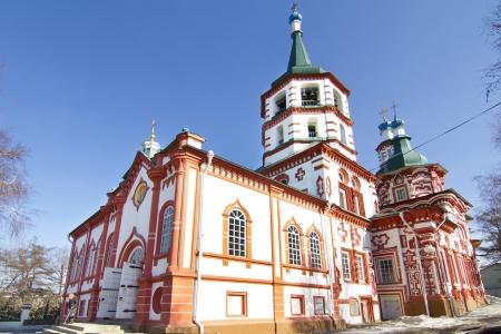Holy Cross (Kresto-Vozdvigenskiy) church in Irkutsk Stock Photo - 18282187