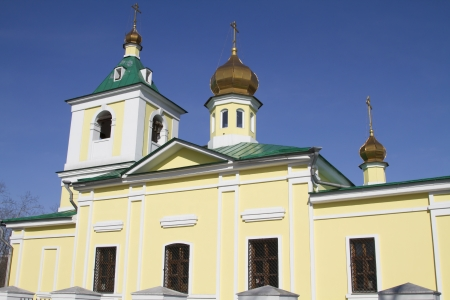 Nikolo-Innokentevskiy church in Irkutsk, Russia Stock Photo - 18282191