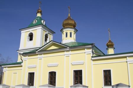 Nikolo-Innokentevskiy church in Irkutsk, Russia Stock Photo - 18282191