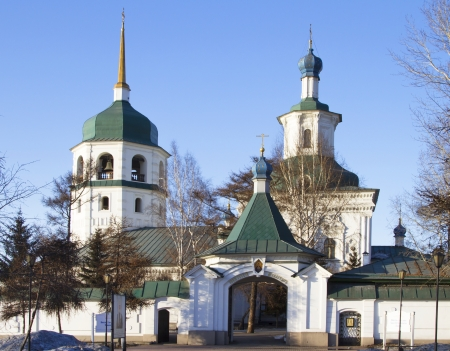 Monastery in honor of the Mother of God,  Znamenie  Stock Photo