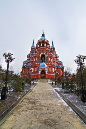 Kazan Church in Irkutsk, Russia Stock Photo - 18310972