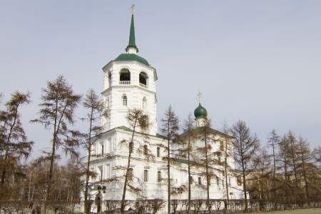The Church in the name of the Vernicle image of the Saviour in Irkutsk Stock Photo - 18340607