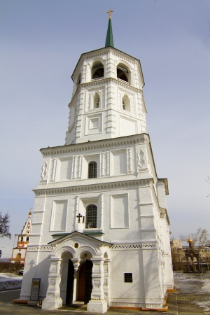 The Church in the name of the Vernicle image of the Saviour in Irkutsk Stock Photo - 18340303