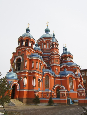Kazan Church in Irkutsk, Russia Stock Photo - 18409101