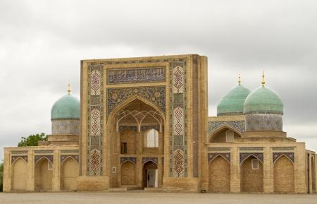 Friday Mosque XIX century Hazrat Imam Square in Tashkent, Uzbekistan