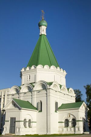 Orthodox Cathedral in Nizhny Novgorod, Russia photo