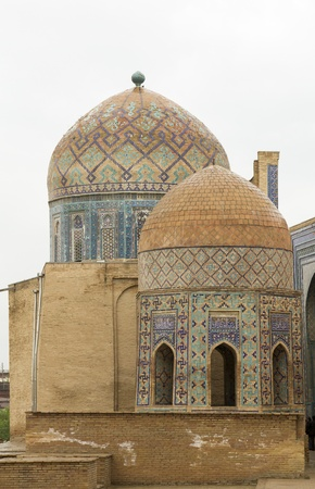 samarkand: The mausoleum in Samarkand, Uzbekistan